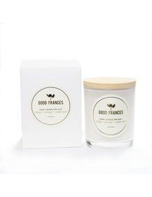 Good Frances Soy Wax Candle Clove, Orange & Cedar Leaf