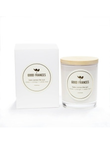 Good Frances Soy Wax Candle Clove, Orange & Cedar Leaf