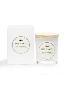 Good Frances Soy Wax Candle Cucumber, Ginger & Mint