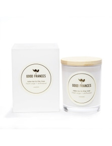 Good Frances Soy Wax Candle Fresh Sage & Driftwood