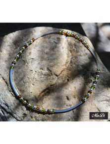 MinDiDesigns Handmade Sterling Silver Stretch Anklet