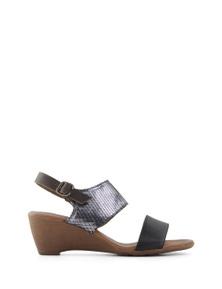 Bueno Tyg Wedge Sandal