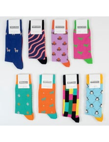 MANRAGS Socks 8-Pack