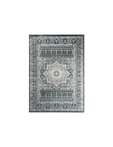Oregon Prague Medallion Grey Rug 120X170cm