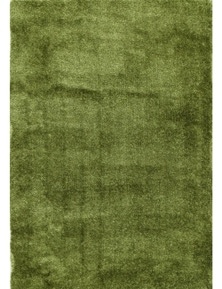 Fizzle Shaggy Green Rug 110X160