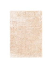 Fizzle Shaggy Cream Rug 110X160