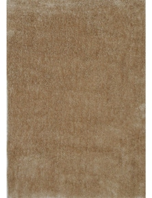 Fizzle Shaggy Beige Rug 110X160