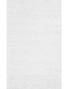 Grand Shaggy White Rug 120X160
