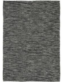 Scandi Black & White Reversible Wool Rug 160X230cm