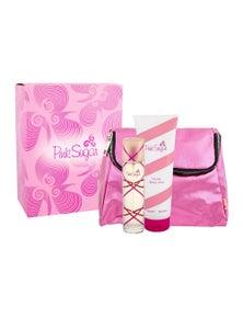 Pink Sugar 3 Piece by AQUOLINA for Women (100ML) Eau de Toilette - Gift Set