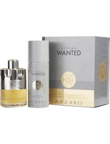 Wanted 2 Piece by AZZARO for Men (100ML) Eau de Toilette - Gift Set