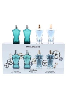 Le Male Collection 4 Piece by JEAN PAUL GAULTER for Men (7ML)  - Mini Set