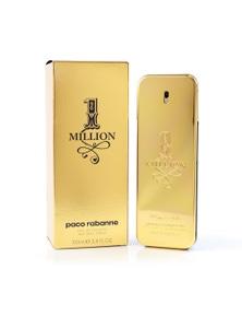 1 Million by PACO RABANNE for Men (50ML) Eau de Toilette - Bottle