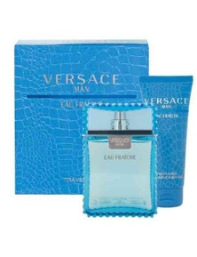 Versace Man Eau Fraiche 2 Piece by VERSACE for Men (100ML)  - Gift Set