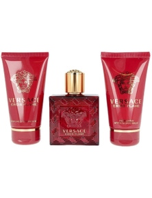 Eros Flame  by VERSACE for Men (50ML)  - Gift Set
