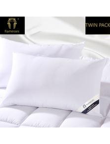 Ramesses Hypoallergenic Silk Twin Pack Pillow