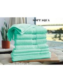 Kingtex 7 Piece Towel Bath Sheet Set