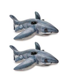 Intex Great White Shark Ride On 2PK