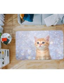 AJ 3D Little Orange Cat 37086 Non Slip Rug Mat Room Mat Quality Elegant Photo Carpet
