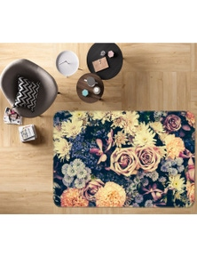 AJ 3D Flowers 37085 Non Slip Rug Mat Room Mat Quality Elegant Photo Carpet