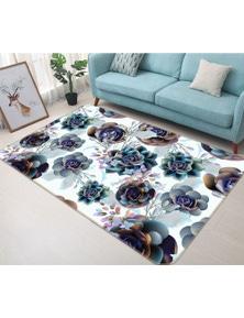 AJ 3D Flower 37082 Non Slip Rug Mat Room Mat Quality Elegant Photo Carpet