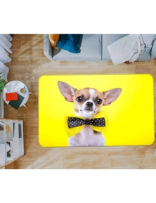 AJ 3D Dog 37081 Non Slip Rug Mat Room Mat Quality Elegant Photo Carpet
