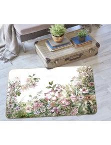 AJ 3D Flower Bush 37076 Non Slip Rug Mat Room Mat Quality Elegant Photo Carpet