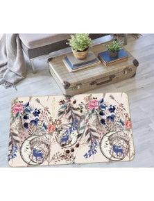 AJ 3D Flowers Dreamcatcher 37066 Non Slip Rug Mat Room Mat Quality Elegant Photo Carpet
