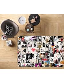 AJ 3D Beauty Photo Album 77134 Non Slip Rug Mat Room Mat Quality Elegant Photo Carpet