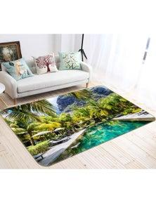 AJ 3D Coconut Swimming Pool 66080 Non Slip Rug Mat Room Mat Quality Elegant Photo Carpet