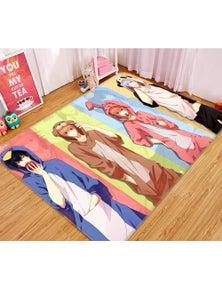 AJ 3D GinTama 63028 Anime Non Slip Rug Mat Room Mat Quality Elegant Photo Carpet