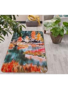 AJ 3D Tree Bird Painting 28007 Non Slip Rug Mat Room Mat Quality Elegant Photo Carpet