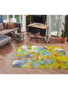 AJ 3D Lights Camera Action 1003 Allan P. Friedlander Rug Non Slip Rug Mat Room Mat Quality Elegant Photo Carpet
