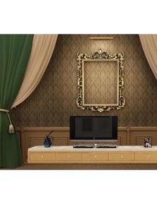 AJ Wallpaper 3D Photo Frame Decoration Wc120 Wall Murals Woven Paper Wallpaper