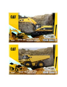 Cat 2Pc 1:64 Diecast 385C L Hydraulic Excavator and 775E Off-Highway Truck