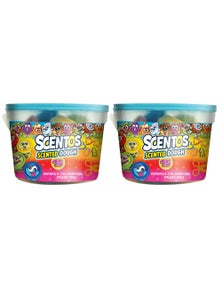 Scentos Scented Dough and Tools In Tub 2X