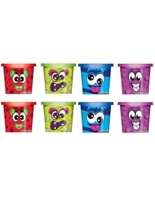 8X Scentos Scented Dough Assorted Colours