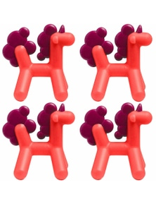 Boon Prance Silicone TeetherUnicorn 4PK