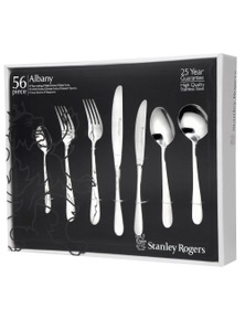Stanley Rogers Albany Cutlery Set 56 Piece Stainless Steel