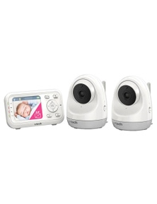 Vtech PanTilt Full Colour VideoAudio Baby Monitor w/ 2x Camera