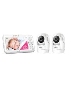 Vtech PanTilt Colour VideoAudio Baby Monitor w/ 2x Camera