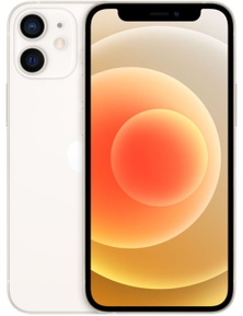Apple iPhone 12 Mini 5G (64GB, White, Global Version)
