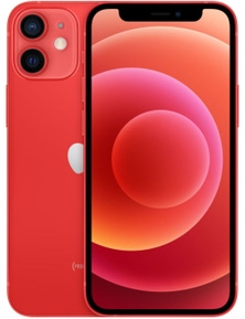 Apple iPhone 12 Mini 5G (128GB, Red, Global Version)