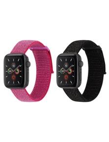 Case-Mate Nylon Sport Apple Watch Band 38-40mmMetallic