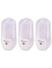 Sansai Automatic LED Night Light 3PK