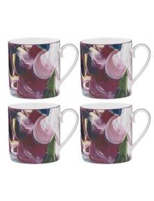 Ecology Bloom Mug 330Ml 4X