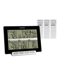La Crosse Weather Station Temp Humidity 3 Sensors 308-1412-3TX-INT