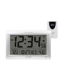 La Crosse Large Atomic Digital Wall Clock w/ Temperature 513-1311OTN