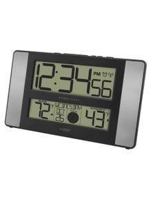 La Crosse Moon Phase Digital Wall Clock w/ Temperature 513-1417AL
