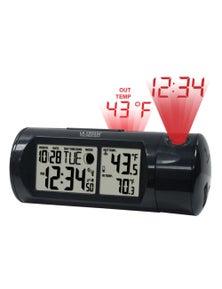 La Crosse Projection Alarm Clock with In/Outdoor Temperature 616-143
